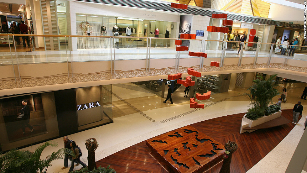 "The ""Elements"" shopping mall in Hong Kong is designed around the five elements -- metal, wood, water, fire and earth -- that are a key part of feng shui."
