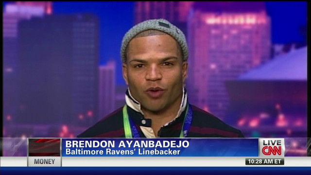Brendon Ayanbadejo talks NFL gay rights