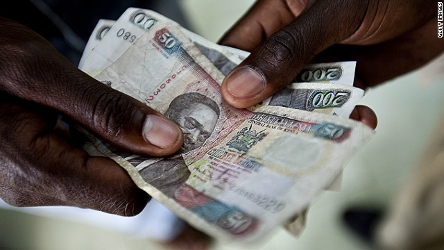 Kenya's currency concerns