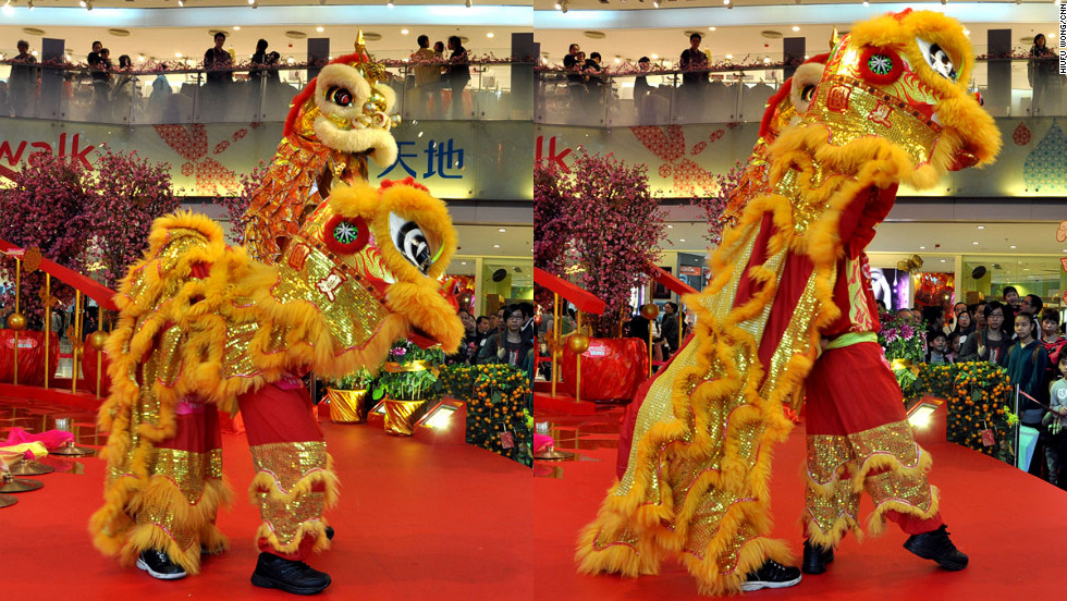 "<a href=""http://en.wikipedia.org/wiki/Three_Jewels"" target=""_blank"">Three is a holy number</a> in Chinese culture. At the start of the performance, lion dancers enter a temple or stage. They simultaneously bow and retreat, repeating the move three times.<br /><br />""It's the most underestimated bit of footwork, but one of the most important moves,"" says Ha. ""The lion dancers need to make sure the head of the lion is lowered and remains humble at all times. Otherwise, it's seen as an offense to God."""