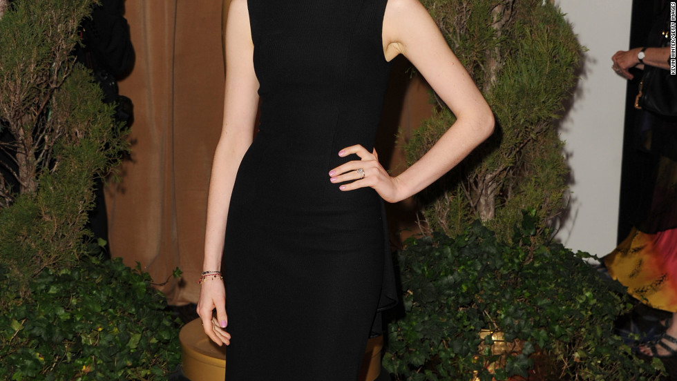 Anne Hathaway attends the 85th Academy Awards Nominations Luncheon.