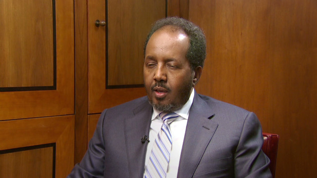 Somalia's President on 'arc of terror'