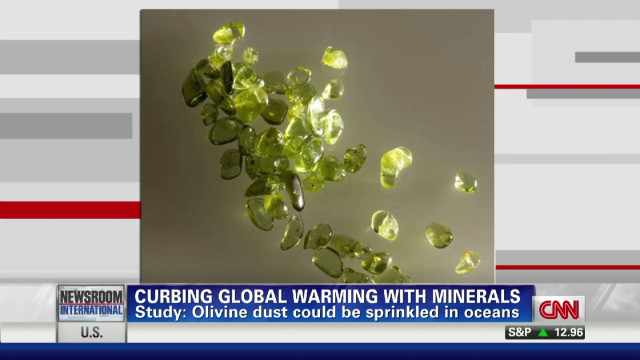 Mineral dust could curb global warming