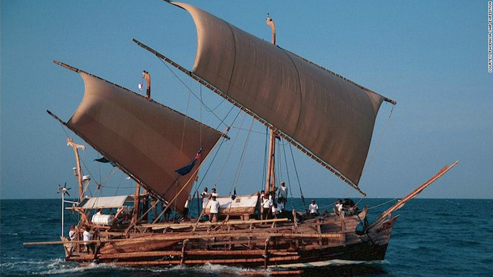 It wasn't the first time Beale recreated history. In 2003 he sailed a replica 8th century Indonesian vessel, known as a Barobudur ship, 19,000 kilometers from Jakarta to Ghana.