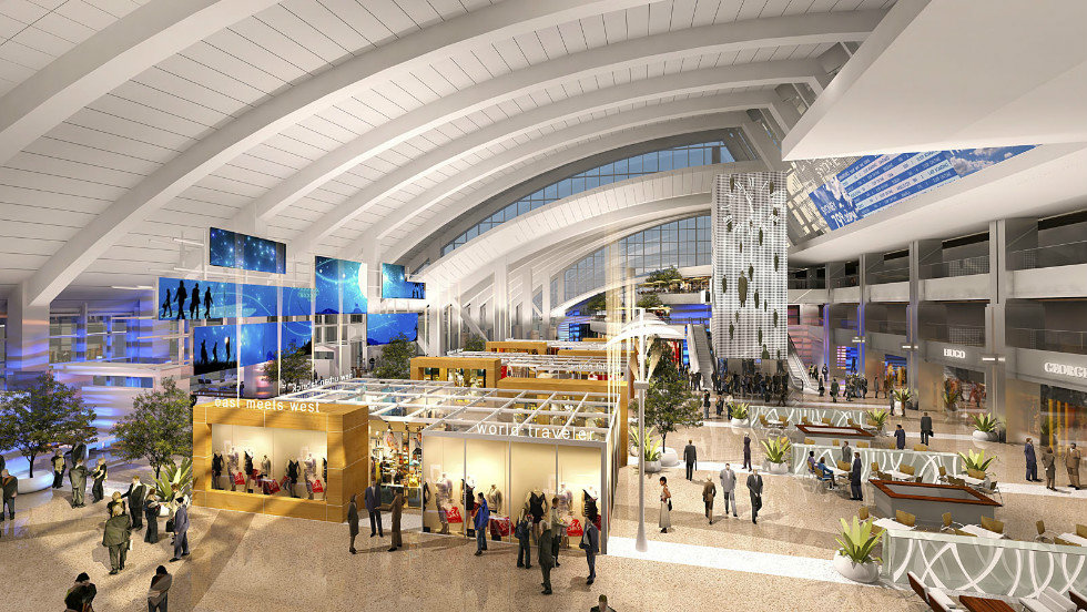 Curtis Fentress is overseeing the $1.5 billion modernization of Los Angeles Airport.