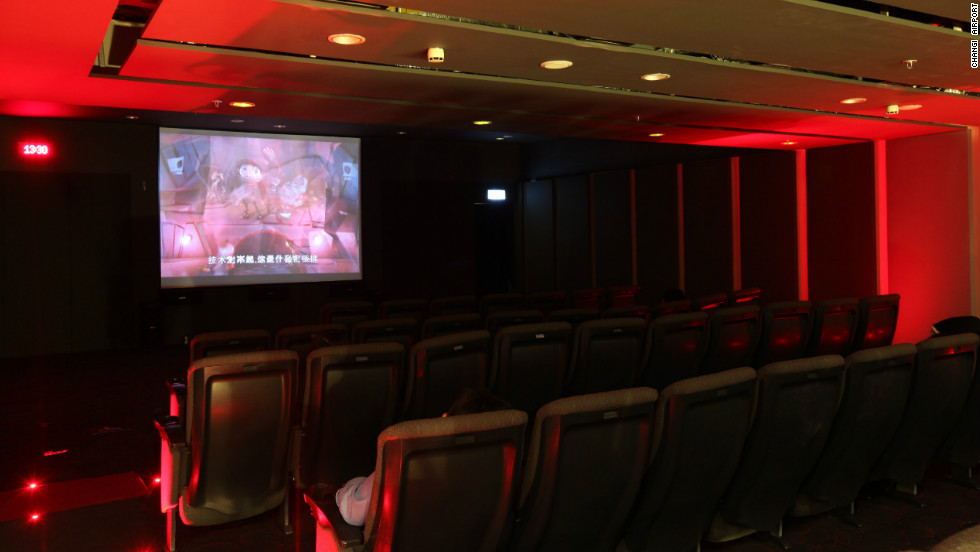 Changi Airport also has a complimentary movie theater, which streams films 24/7.