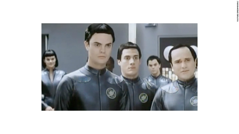 "Before his star-making turn as Dwight on ""The Office,""  Rainn Wilson was one of the many Thermians in 1999's sci-fi spoof ""Galaxy Quest."" However, the moment where he got the most screen time was this <a href=""http://www.youtube.com/watch?v=9b4s5CfPD4Y"" target=""_blank"">deleted scene</a>."