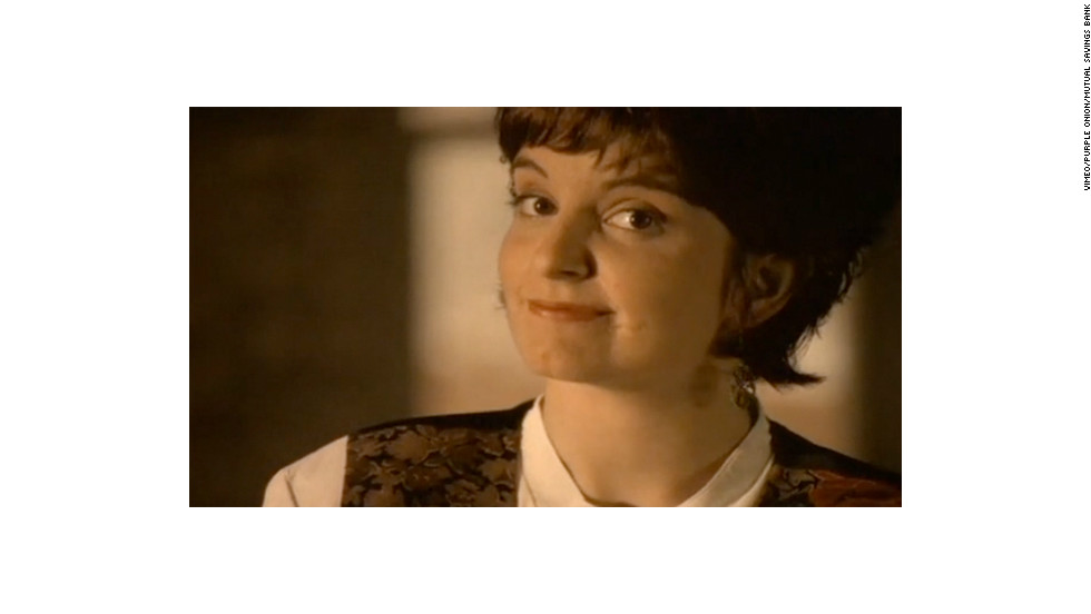 "Tina Fey shot her <a href=""http://vimeo.com/12620324"" target=""_blank"">one and only commercial</a>, for Chicago's Mutual Savings Bank, in 1995. Even her famous eye-roll is present and accounted for. The ad might have faded into obscurity until its production company Purple Onion posted it online. Nerds!"