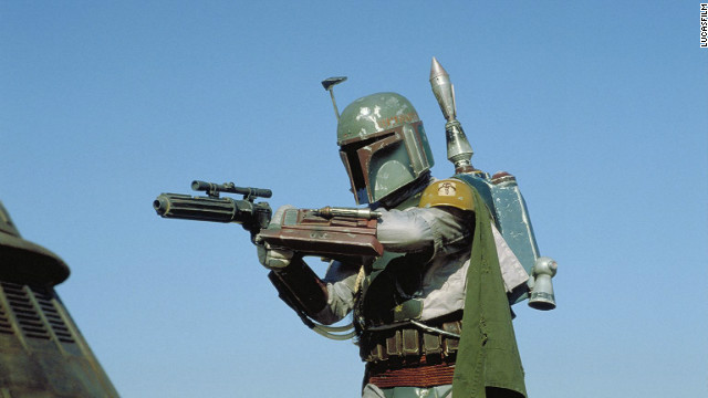 "Fan favorite Boba Fett in ""Star Wars Episode VI: Return of the Jedi."" Disney and Lucasfilm have yet to say which characters will be featured in the upcoming spinoff films."