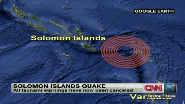 Report: Five dead after Pacific quake
