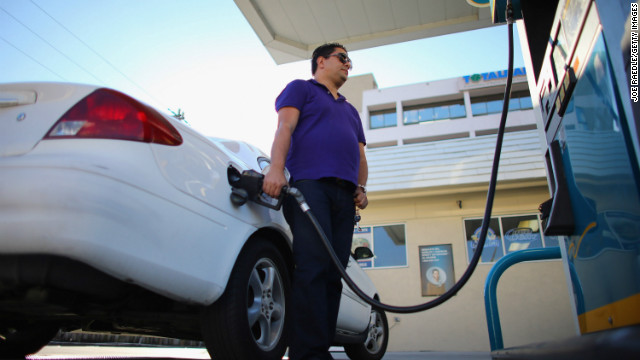 Crude oil, which makes up about 70% of the price at the pump, went down slightly in the past two weeks,