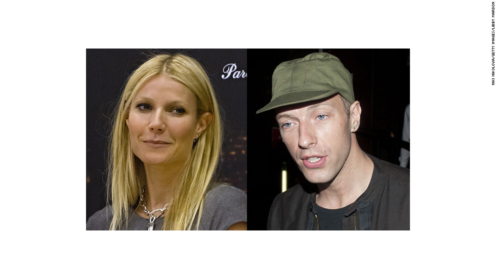 Gwyneth Paltrow, 41, married Coldplay's Chris Martin, 37, in 2003.