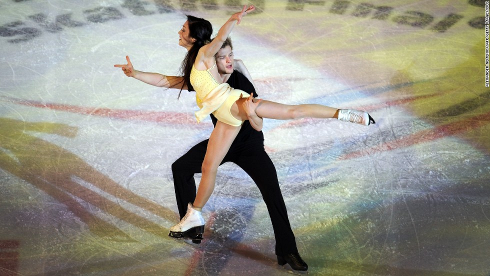 Americans Charlie White and Meryl Davis triumphed in the figure skating Grand Prix Final held at Sochi's Iceberg Skating Palace in December 2012.