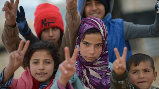 Jordan overflowing with Syrian refugees