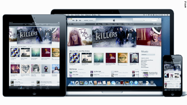 In February, Apple announced that the 25 bilionth song had been downloaded from iTunes by a German man.