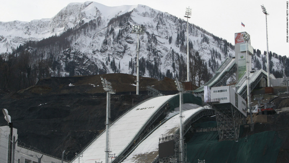 "The ""RusSki Gorki"" Jumping Center at the Krasnaya Polyana resort will host ski jumping and Nordic combined competitions, and has already held test events."