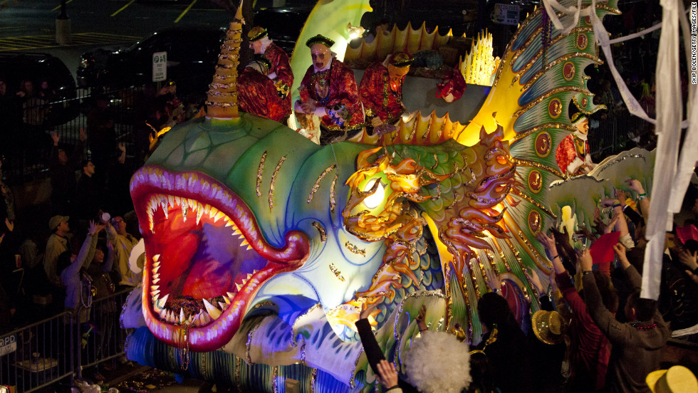 """The half-dressed masses are a sight to behold, but the festivities stretch well beyond those tantalizing flashes of skin. Get your parade strategy on with """"<a href=""""http://www.cnn.com/2012/02/10/travel/mardi-gras-parade-tips/index.html"""">Mardi Gras beyond bare breasts</a>."""""""