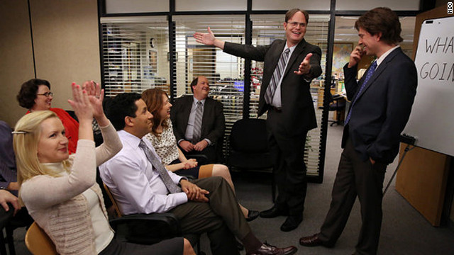 "The series finale of ""The Office"" will air on May 16."