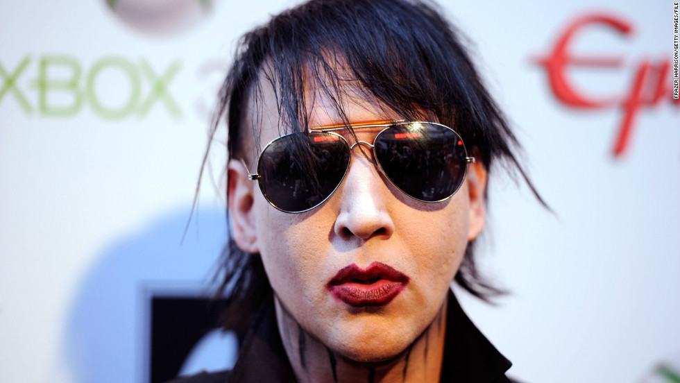 Marilyn Manson is way out there, but he did not have a rib removed so that he could more easily ... pleasure himself.