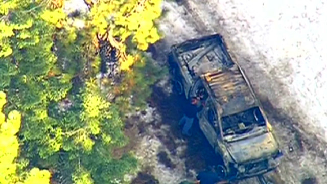 Police find former cop's torched truck