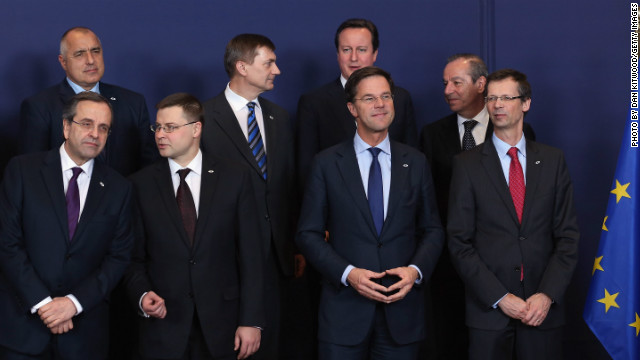 EU agrees to first-ever spending cut