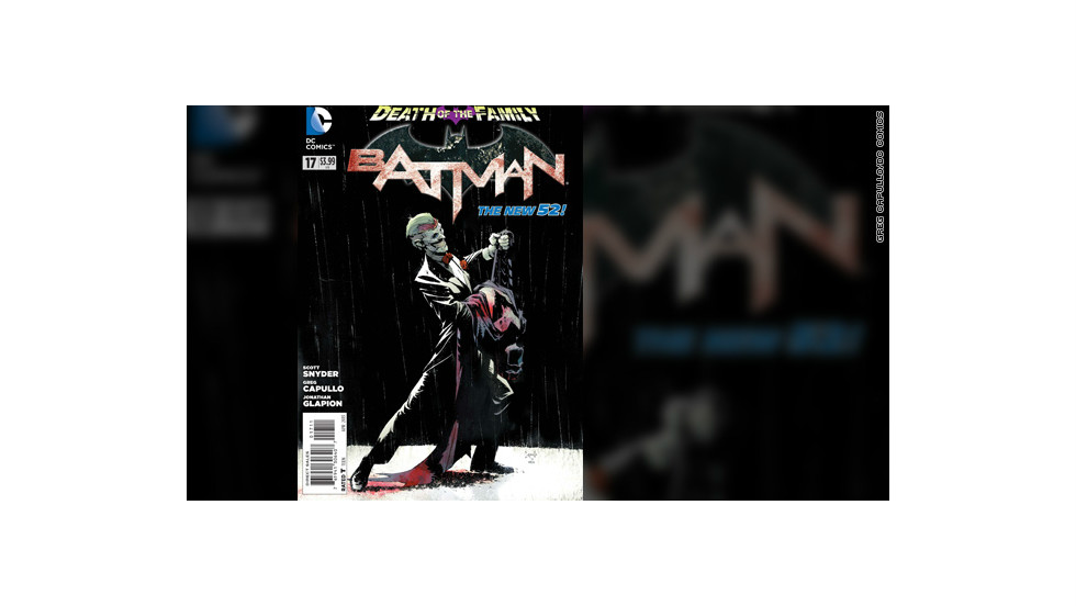 """Batman"" #17, due out Wednesday, February 13, wraps up ""Death of the Family,"" a months-long story arc in all of the ""Batman""-related comic books, in which The Joker has gone after Batman by threatening and capturing his friends and allies, members of his Bat-""family."" Writer Scott Snyder unleashes a climactic bombshell, a final confrontation between The Joker and the Dark Knight. (DC Comics is owned by Time Warner, which owns CNN.) The title of the story echoes 1988's ""A Death in the Family,"" which told the story of The Joker's brutal murder of the second Robin, Jason Todd. The following exclusive look at the first few pages of the story contains spoilers, as well as artwork which some might find disturbing."