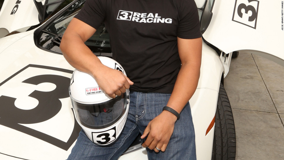 "Donald Faison previews EA's ""Real Racing 3"" in Playa Vista, California."