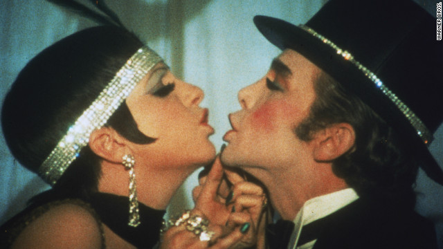 "Minnelli and Joel Grey in the famous ""Money, Money"" number."
