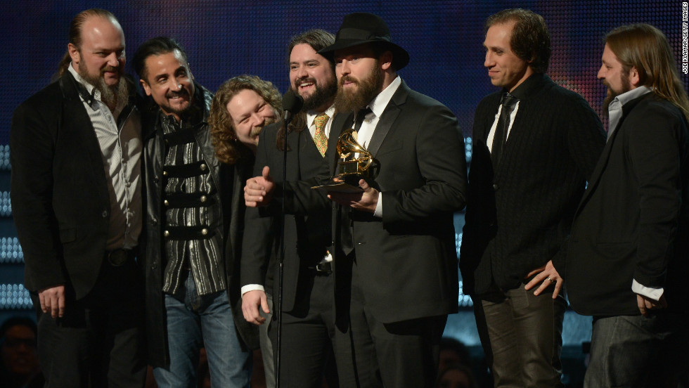 "Zac Brown Band won the Grammy for best country album with ""Uncaged."" This is the band's third Grammy Award."