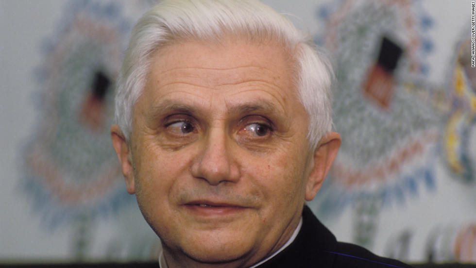 Ratzinger, who was serving as cardinal-priest of Santa Maria Consolatrice al Tiburtino, visits Madrid in 1989.