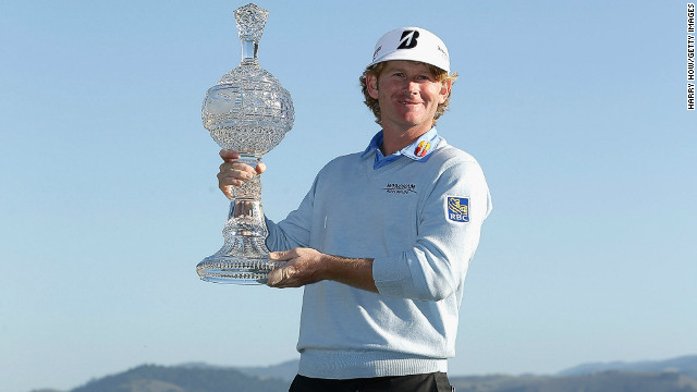 Brandt Snedeker won 2012's FedEx Cup and secured a cool $10 million in the process