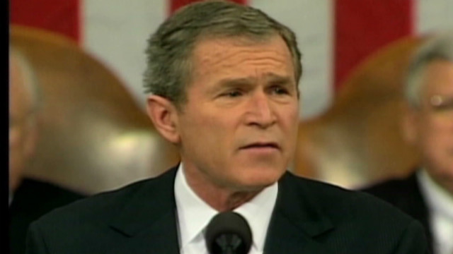 Bush defines 'axis of evil'