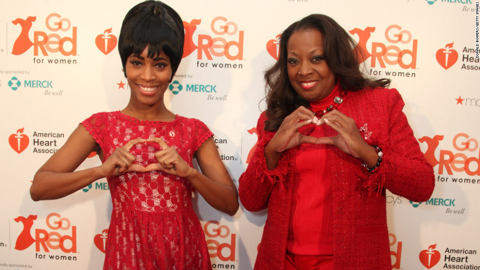 Valisia LeKae, left, and Star Jones