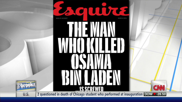 Man who shot bin Laden talks to magazine