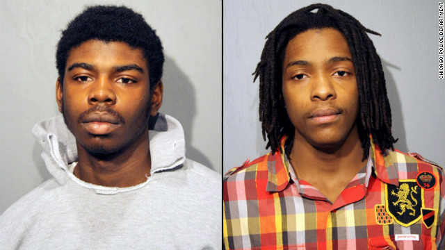 Michael Ward, 18, and Kenneth Williams, 20, have pleaded not guilty to charges in the killing of Chicago honor student Hadiya Pendleton.