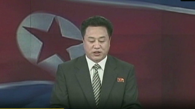 Watch North Korea announce nuclear test