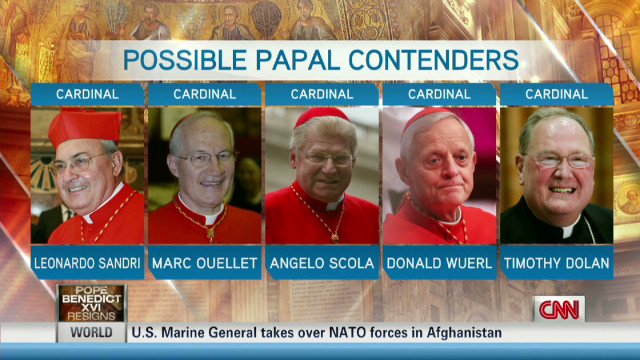 Who will be selected as the next pope?
