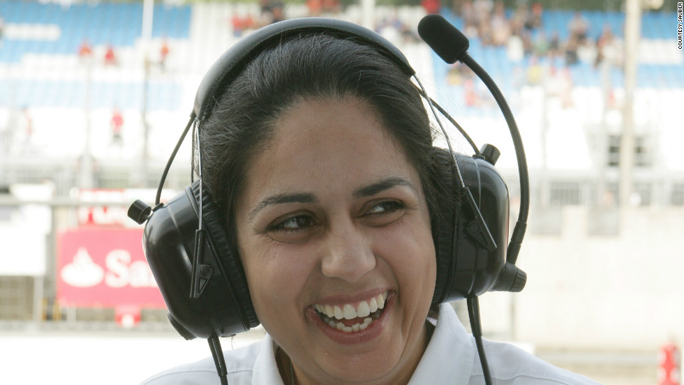 Kaltenborn said she grew up watching Grand Prix as a child but never imagined it would become her career.