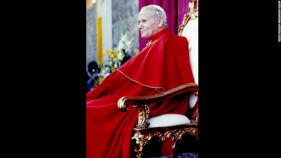 No. 2: Pope John Paul II reigned for 26 years, 5 months and 18 days, from 1978 to 2005.