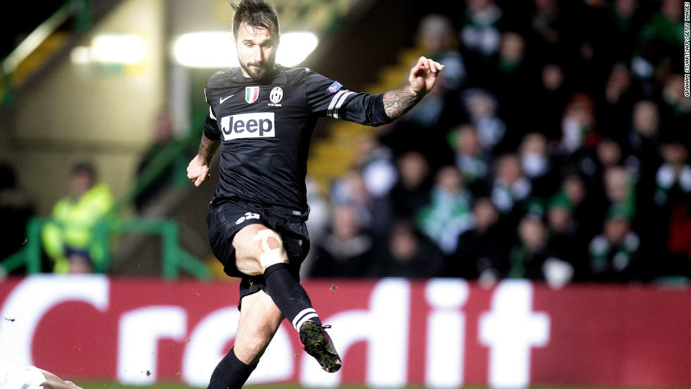 Mirko Vucinic rubbed salt into Celtic wounds by firing home his side's third and final goal in the 83rd minute following another defensive mistake by Efe Ambrose. The tie is all but over going into the second leg in Turin on March 6.