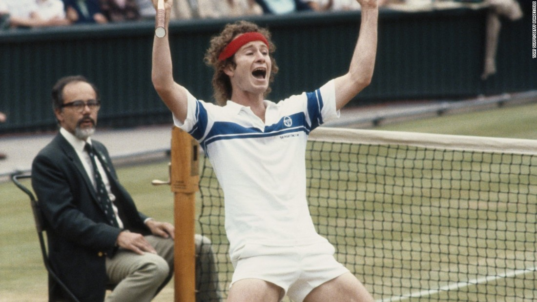 He defeated Borg 4-6 7-6 7-6 6-4, ending his unbeaten run. The Swede appeared relieved, and after McEnroe beat him once more at the U.S. Open final two months later, he never played another grand slam.