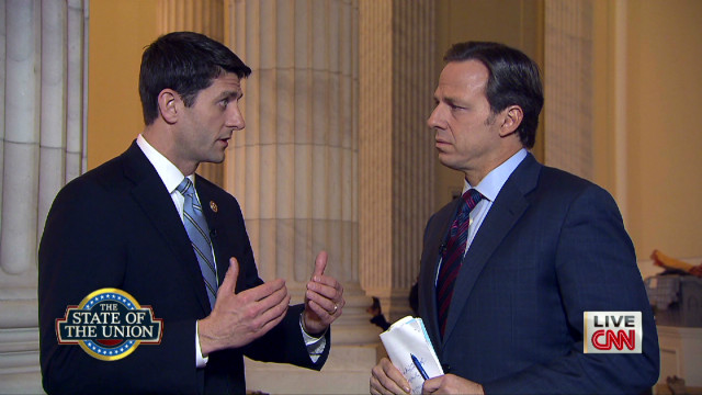 Rep. Paul Ryan reacts to SOTU Address