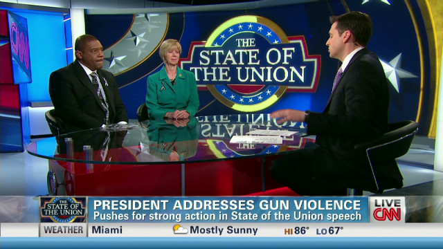 Advocates on Obama call for gun control