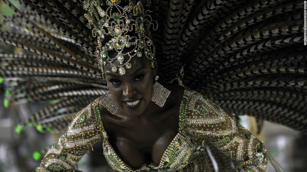 Carnival combines samba -- music and dance which grew out of Brazil's black neighborhoods with the Catholic tradition of celebrating the run-up to Lent.