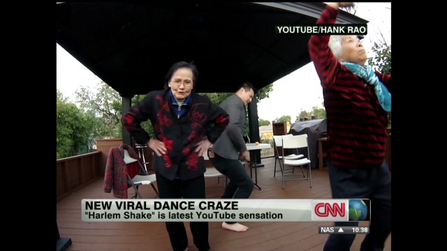 New viral dance craze: 'Harlem Shake'
