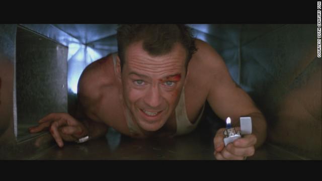 "Bruce WIllis began a series when he starred as Officer John McClane in the 1988 film ""Die Hard."""