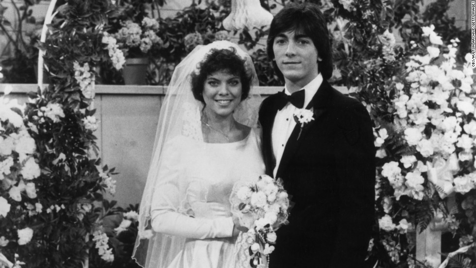 "The Fonz aside, the romance between Joanie (Erin Moran) and Chachi (Scott Baio) was one of the most memorable parts of the ABC hit sitcom ""Happy Days."" But their spinoff, ""Joanie Loves Chachi,"" was decidedly less successful."
