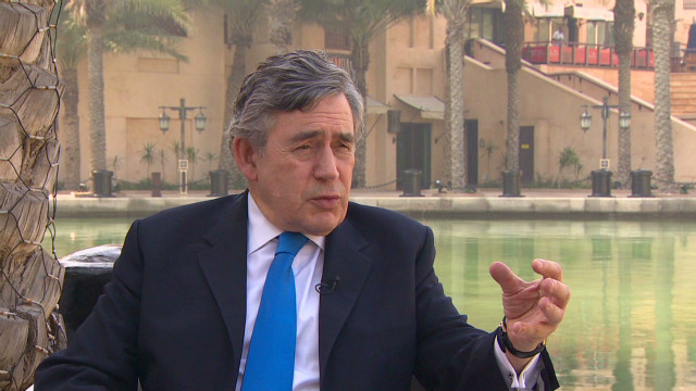 Former UK PM Gordon Brown on growth