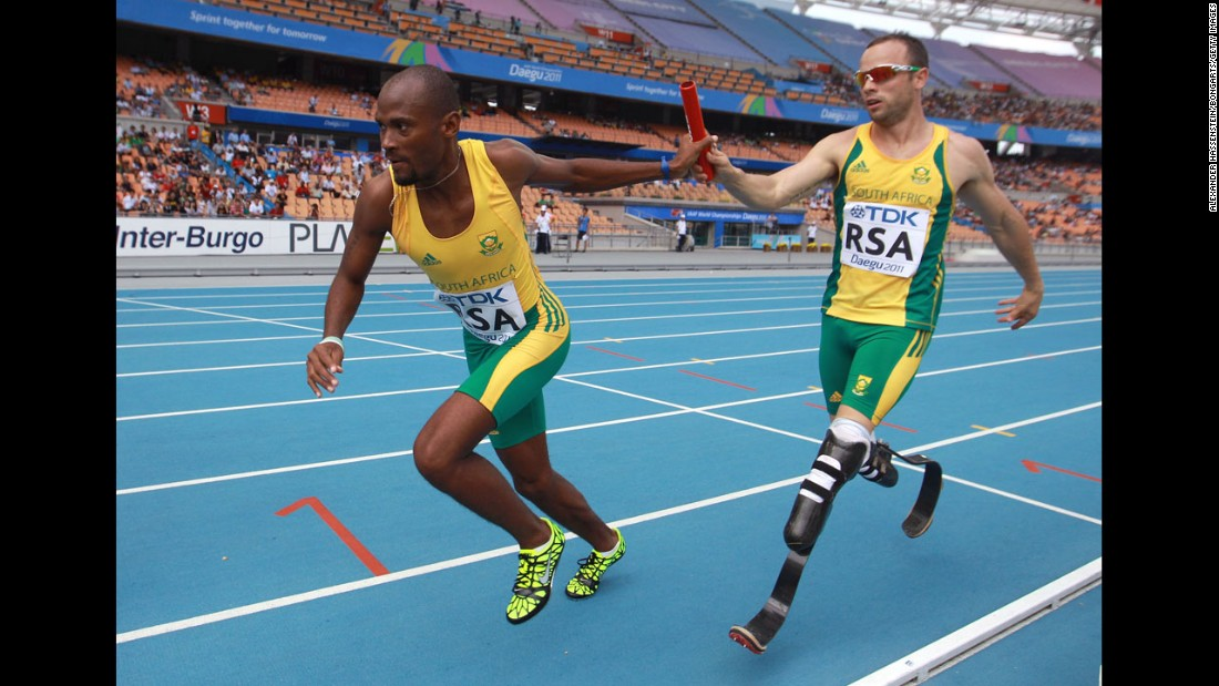 Carbon Fiber To  pete In 2012 London Olympics additionally The Man Turned Handicap Gold BLADE RUNNER BY OSCAR PISTORIUS besides 2013 08 04 archive further Oscar pistorius alan oliveira the south african paralympian accuses his rival of getting an illegal leg up furthermore Don Drapers Quest To Be R b 5236785. on oscar pistorius olympic race
