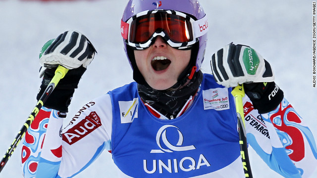 France's Tessa Worley skis to the European nation's fourth medal of the World Championships.